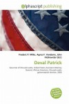 Deval Patrick - Frederic P. Miller, Agnes F. Vandome, John McBrewster