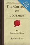 The Critique of Judgement - Immanuel Kant