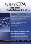 Wiley CPA Examination Review Practice Software 10.0 - O. Ray Whittington, Patrick R. Delaney