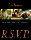 R.S.V.P.: Menus for Entertaining from People Who Really Know How - Nan Kempner, Quentin Bacon
