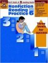 Nonfiction Reading Practice, Grade 6 - Ellen Linnihan, Jo Ellen Moore, Jill Norris