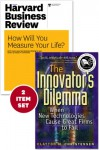 "The Innovator's Dilemma with Award-Winning Harvard Business Review Article ""How Will You Measure Your Life?"" - Clayton M. Christensen"