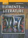 Holt Elements of Literature, First Course Grade 7 - Kylene Beers