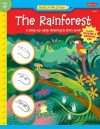 Watch Me Draw The Rainforest: A step-by-step drawing & story book - Jenna Winterberg, Diana Fisher