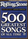 Selections from Rolling Stone Magazine's 500 Greatest Songs of All Time: Guitar Classics Volume 2: Classic Rock to Modern Rock (Easy Guitar TAB) (Rolling Stones Classic Guitar) - Alfred Publishing, Aaron Stang