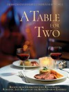 A Table for Two (Menus and Music Cookbook with Music CD) (Sharon O'Connor's Menus and Music) - Sharon O'Connor