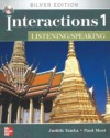 Interactions 1 Listening/Speaking Student Book + e-Course Code: Silver Edition - Judith Tanka, Paul Most