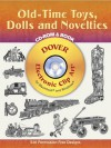 Old-Time Toys, Dolls and Novelties CD-ROM and Book - Dover Publications Inc.
