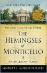 The Hemingses of Monticello - Annette Gordon-Reed