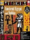 Stencils Ancient Egypt & Nubia (Ancient and Living Cultures : Stencils) - Mira Bartok, Christine Ronan
