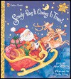 Sandy Paws is Coming to Town (Golden Deluxe Flaptime Book) - Alan Benjamin