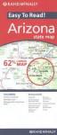 Rand Mc Nally Easy To Read! Arizona State Map (Rand Mc Nally Easy To Fold!) - Rand McNally