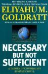 Necessary But Not Sufficient - Eliyahu M. Goldratt, Carol A. Ptak, Eli Schragenheim