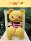 Huggy Cat Amigurumi Crochet Pattern (Big Huggy Dolls) - Sayjai, Sayjai Thawornsupacharoen