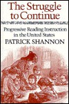 The Struggle to Continue - Patrick Shannon