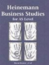Heinemann Business Studies For As Level - David Browne