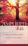 Holy Bible: Amplified Bible, Indexed - Anonymous