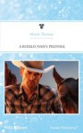 Mills & Boon : A Rodeo Man's Promise (Rodeo Rebels) - Marin Thomas