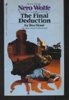The Final Deduction (Nero Wolfe, #35) - Rex Stout, Andrew M. Greeley