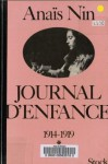 Journal d'enfance: 1914-1919 - Anaïs Nin