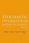 Stochastic Optimization Models in Finance - William T. Ziemba