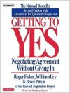 Getting to Yes: Negotiating Agreement Without Giving In (Audio) - Roger Fisher, William Ury, Bruce Patton, Murphy Guyer
