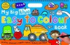 My Big Blue Easy to Colour Book - Roger Priddy