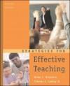 Strategies for Effective Teaching - Allan C. Ornstein, Thomas J. Lasley