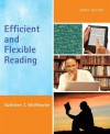 Efficient and Flexible Reading Plus New Myreadinglab -- Access Card Package - Kathleen T. McWhorter