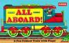All Aboard!: A Fun Foldout Train with Flaps - Playskool Books, Playskool Books