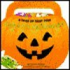 Help! It's Halloween: A Trick-Or-Treat Book, with 39 Glow-In-The-Dark Stickers - Joanne Barkan, Kathryn Mitter