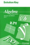 Algebra and Trigonometry Structure and Method Book 2, Solution Manual - Richard G. Brown, Mary P. Dolciani, Robert H. Sorgenfrey
