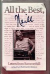 All the Best, Neill: Letters from Summerhill - Alexander Sutherland Neill, Jonathan Croall