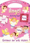 My Carry-Along Angel Activity Book: Christmas Fun with Stickers - Jocelyn Miller, Cathy Hughes