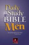 Daily Study Bible for Men-Nlt - Stuart Briscoe
