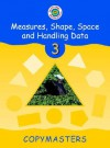 Cambridge Mathematics Direct 3 Measures, Shape, Space and Handling Data Copymasters - Jane Crowden, Jeanette Mumford, Andrew King, Sandy Cowling