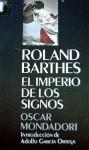 El imperio de los signos - Roland Barthes