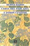 Carta del país azul y otros cuentos - Rubén Darío