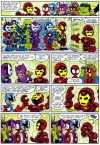 Mini Marvels (Iron Man Suits) - Chris Giarrusso