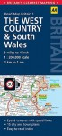 The West Country and South Wales Map - A.A. Publishing, A.A. Publishing