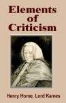 Elements of Criticism - Henry Home