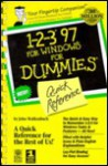 1-2-3 for Windows 95 for Dummies Quick Reference - IDG Books Worldwide