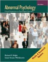 Abnormal Psychology: Media and Research Update 5e with MindMap II CD - Richard P. Halgin, Susan Krauss Whitbourne