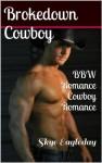 Brokedown Cowboy (BBW Romance/Cowboy Romance) - Skye Eagleday