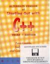 Starting Out With C++ Alternate Edition - Tony Gaddis, Godfrey Muganda, Judy Walters