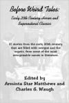 Before Weird Tales - Araminta Star Matthews, Charles G. Waugh