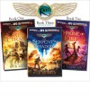 Rick Riordan's the Kane Chronicles (Bundle): The Red Pyramid, the Throne of Fire, the Serpent's Shadow - Rick Riordan, Kevin R Free, Katherine Kellgren