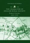 The Character of English Rural Society: Earls Colne, 1550-1750 - Henry French, Richard Hoyle