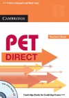 PET Direct Teacher's Book [With CD (Audio)] - Patricia Chappell, Mark Lloyd