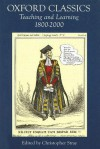 Oxford Classics: Teaching and Learning 1800-2000 - Christopher Stray